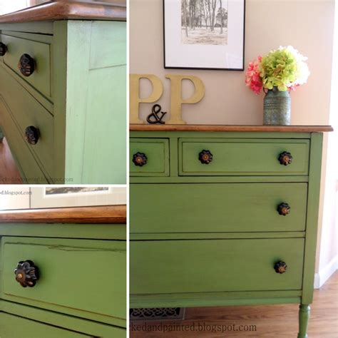 painted furniture bedroom green farmhouse dresser traditional bedroom st louis