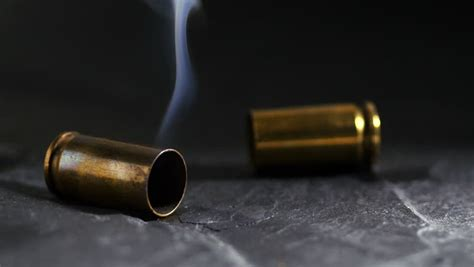 with used bullet casings bullet casing stock footage
