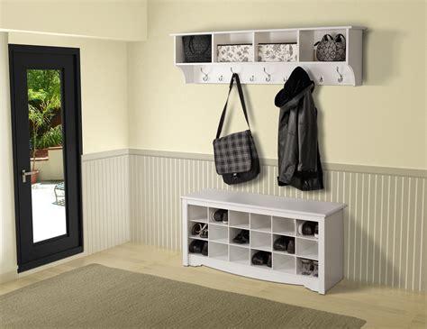 entry way storage prepac hanging entryway shelf by oj commerce 82 07 109 74