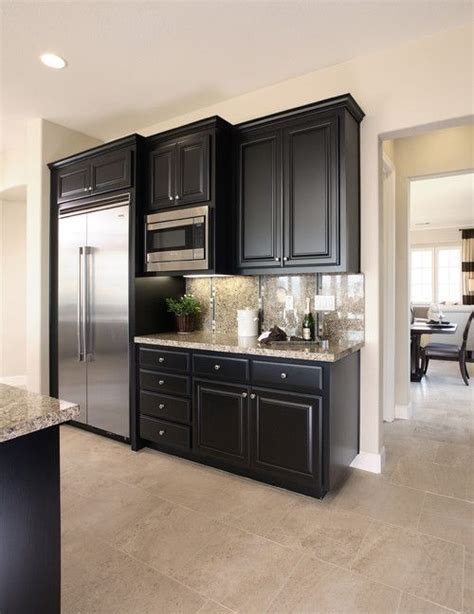 small kitchen with black cabinets best 25 black kitchen cabinets ideas on