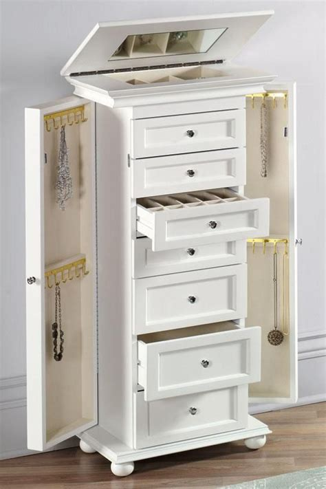 make jewelry armoire 25 best ideas about jewelry armoire on