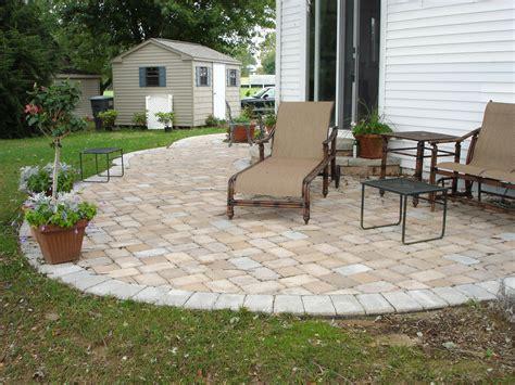paver patio installation cost concrete paver patio designs installation cost great ideas