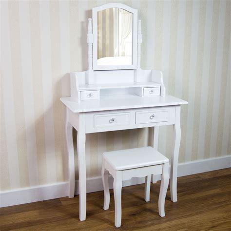 white bedroom desk nishano dressing table drawer stool mirror bedroom makeup