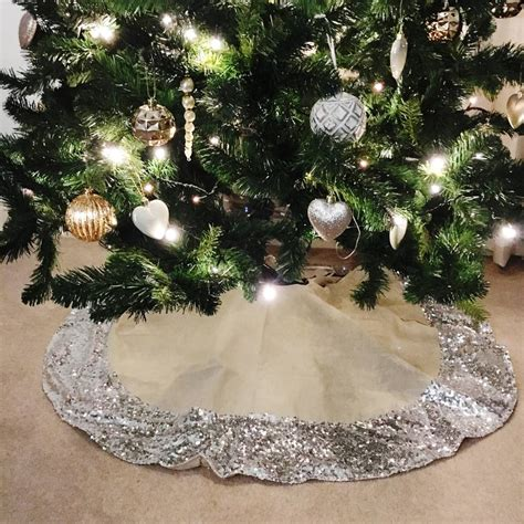and silver tree skirt best tree skirts wicker willow and silver