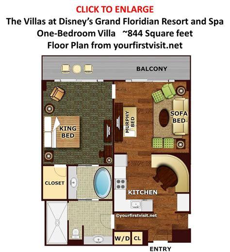 grand floridian floor plan review the villas at disney s grand floridian resort