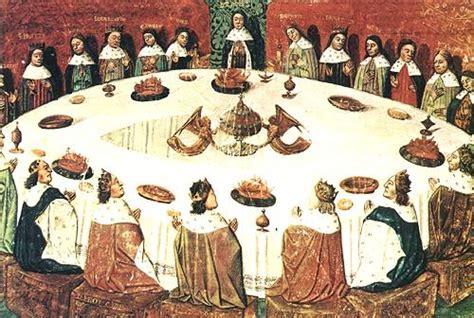 la table ronde sur le graal