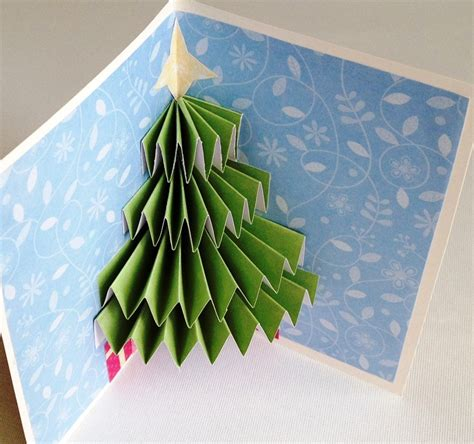 how to make a pop up tree card tree pop up card twiggynest