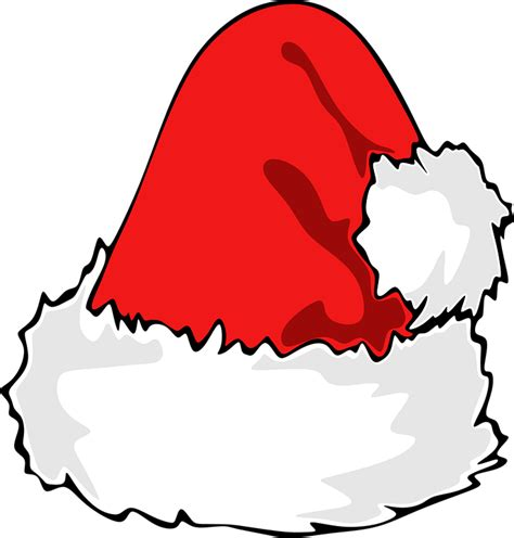 in santa hat free vector graphic santa hat santa hat