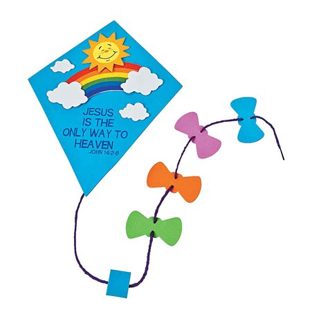 kite crafts for preschool kite craft that flies clipart best