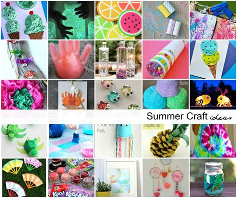 crafts for summer 40 creative summer crafts for that are really