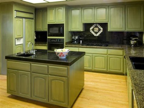 green kitchen furniture green kitchen cabinets pictures options tips ideas hgtv