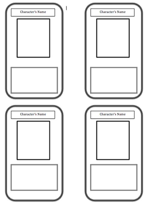make your own trading cards template trading card template beepmunk