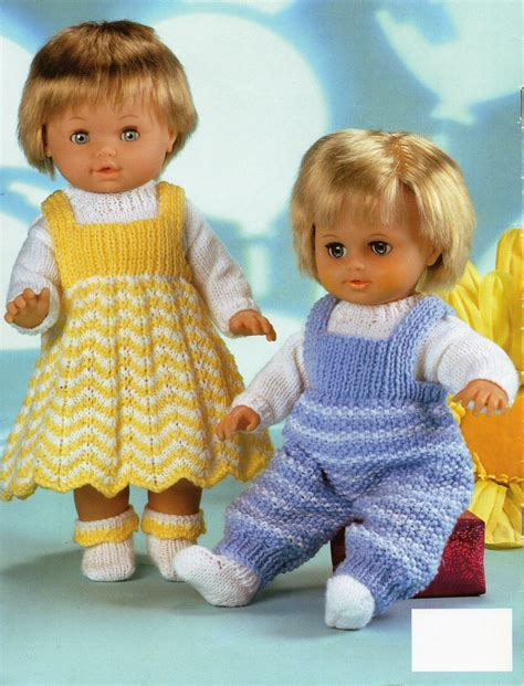 baby doll clothes knitting patterns baby dolls knitting patterns baby dolls dress dungarees