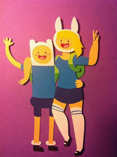 adventure time paper crafts adventure time with finn and fionna papercraft by