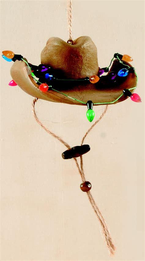cowboy hat ornaments cowboy hat ornament west