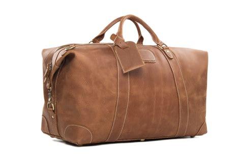 leather duffle bag mens aliexpress buy genuine leather travel bag duffle