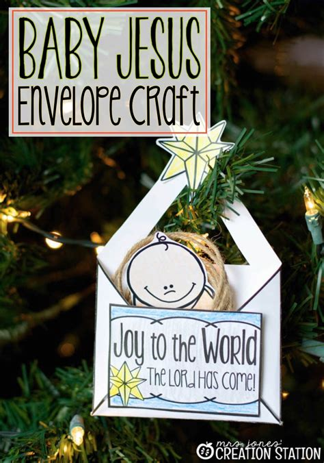 baby jesus crafts nativity craft baby jesus ornament mrs jones