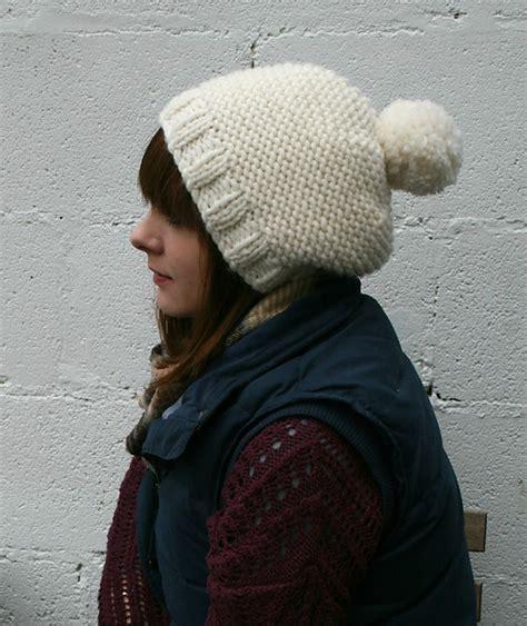 knitting pattern bobble hat knitting patterns galore the chunky bobble hat
