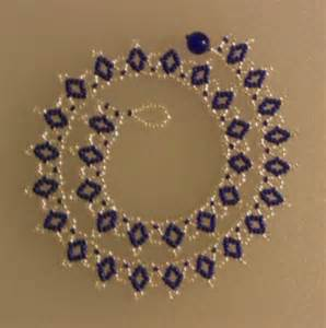 how to make bead jewelry patterns russian beaded necklace tutorial azareal s weblog