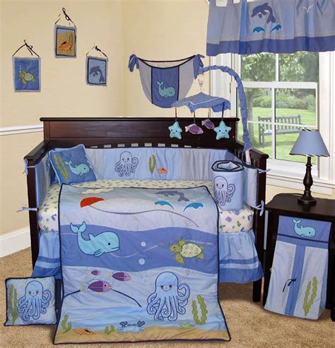 the sea crib bedding the right on vegan baby room decorating