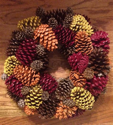 pine cone crafts for best 25 pine cone wreath ideas only on