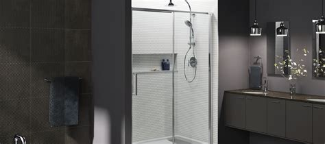 shower doors glass types the different types of shower doors aaip