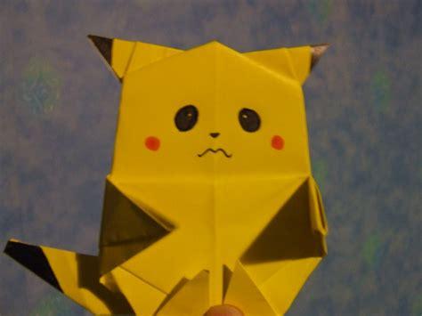 origami pickachu origami pikachu xd by frazzer on deviantart