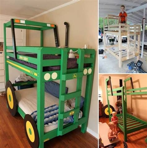 how to make bunk bed how to make a tractor bunk bed pictures photos and