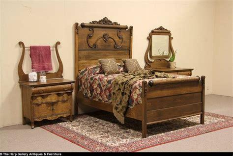 ebay bedroom furniture sets oak 1900 antique 3 pc bedroom set size