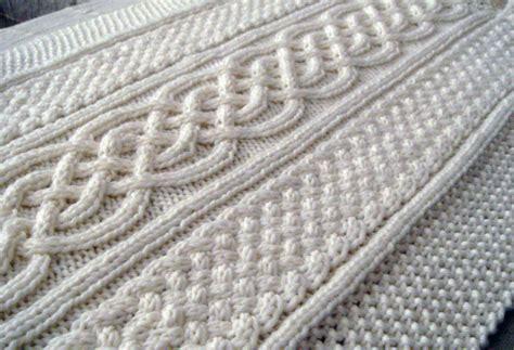 knitting blanket patterns celtic blanket knitting pattern celtic cable design celtic