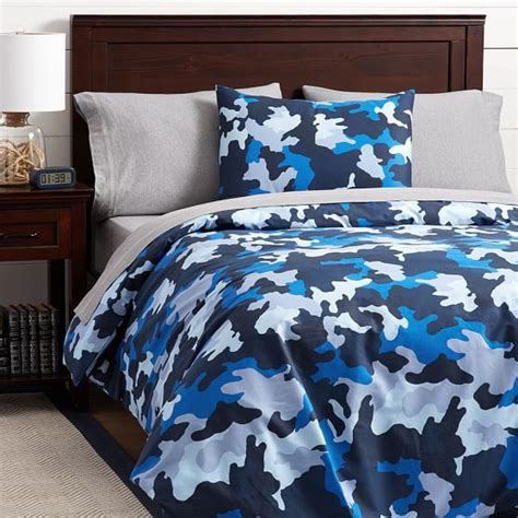 blue camo bedding cool blue brown and grey camo bedding