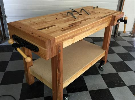 building a workbench for woodworking building a real woodworker s workbench