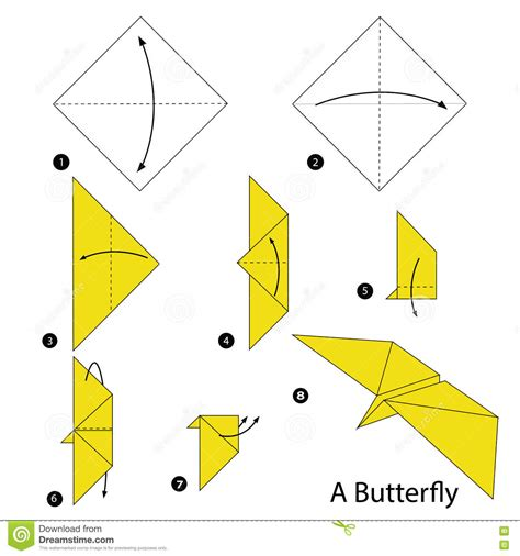 origami butterfly step by step step by step how to make origami a butterfly