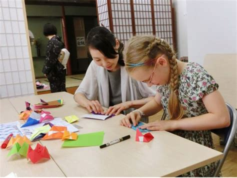 origami classes for family friendly origami paper folding class in tokyo with