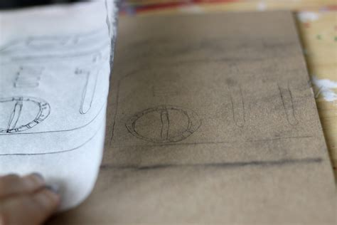 using paper how to trace using only tracing paper and pencil lead for