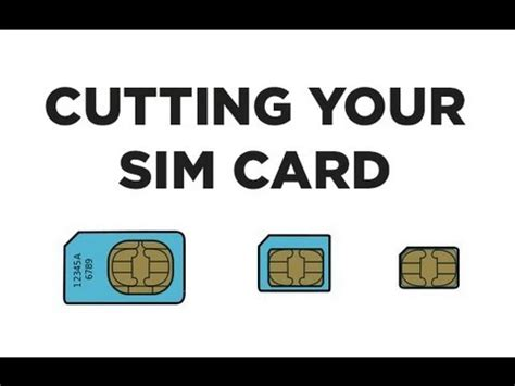 how to make your sim card micro cut your sim card into a nanosim card with