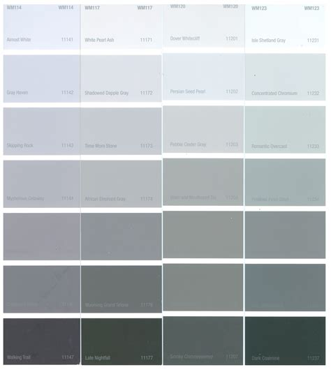 paint colors gray tones tbo