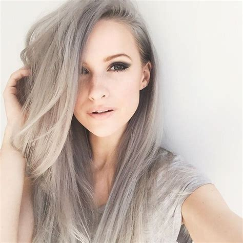 popular trending gray hair colors top 20 gray hair ideas trends grey hair 2016 pinterest