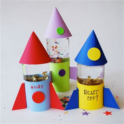 rocket craft for buzz s rocket globes disney family