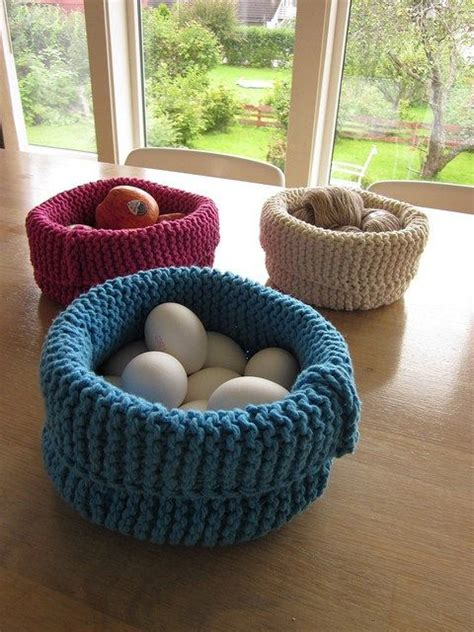knitted yarn bowl pattern 1000 ideas about knitting and crocheting on