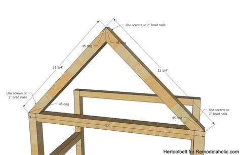 Build A Frame House remodelaholic diy house frame bookshelf plans