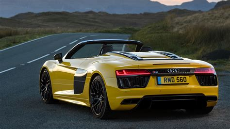 Audi Spider by Audi R8 V10 Spyder 2017 Review By Car Magazine