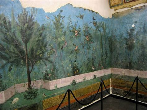 Inspired Home Interiors inspiration the decorative wall paintings of casa di livia