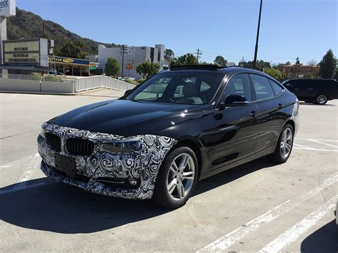 Bmw 3 Gt by Facelifted Bmw 3 Series Gran Turismo Spotted In California