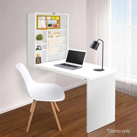 foldable computer desk foldable wall computer desk with bookcase in white buy desks