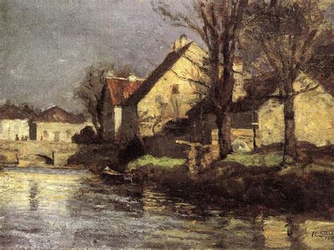 painting indiana canal schlessheim t c wikiart org