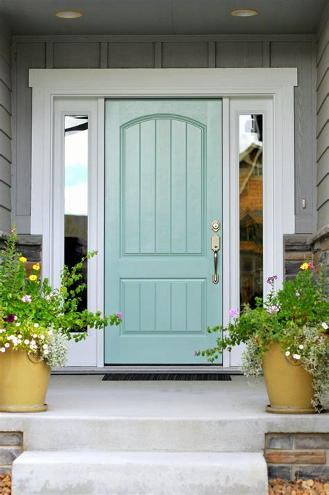 front doors house turquoise and blue front doors with paint colors