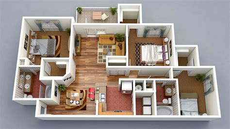 home design 3d home 13 awesome 3d house plan ideas that give a stylish new