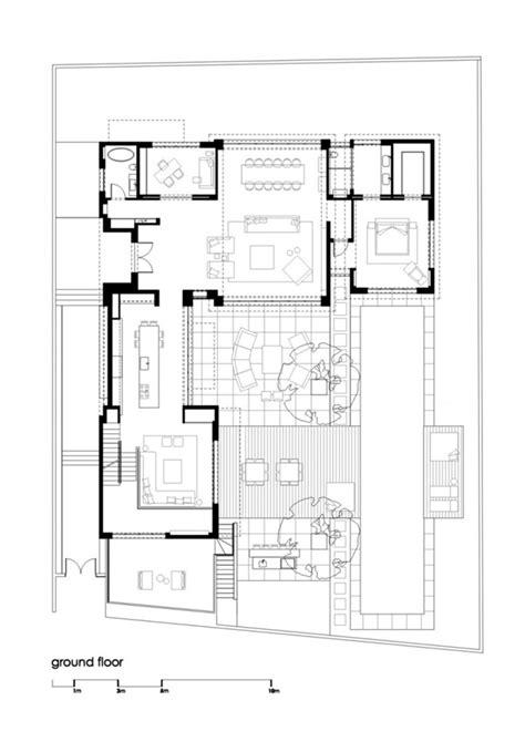 floor plan of modern family house modern family house floor plan modern grey tile floor