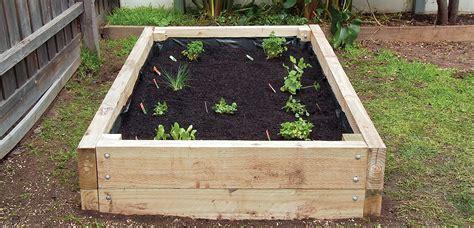 diy vegetable garden boxes how to build a vegetable garden box a home timber